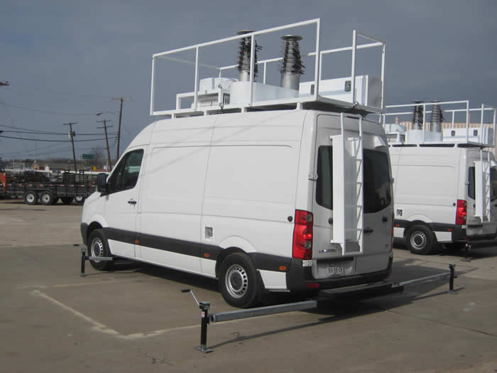 Cell Site On Vans